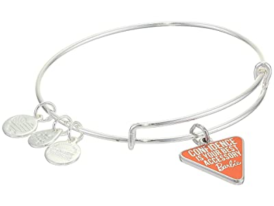 Alex and Ani Barbie Charm Bangle Bracelet (Silver/Confidence Is Your Best Accessory) Bracelet