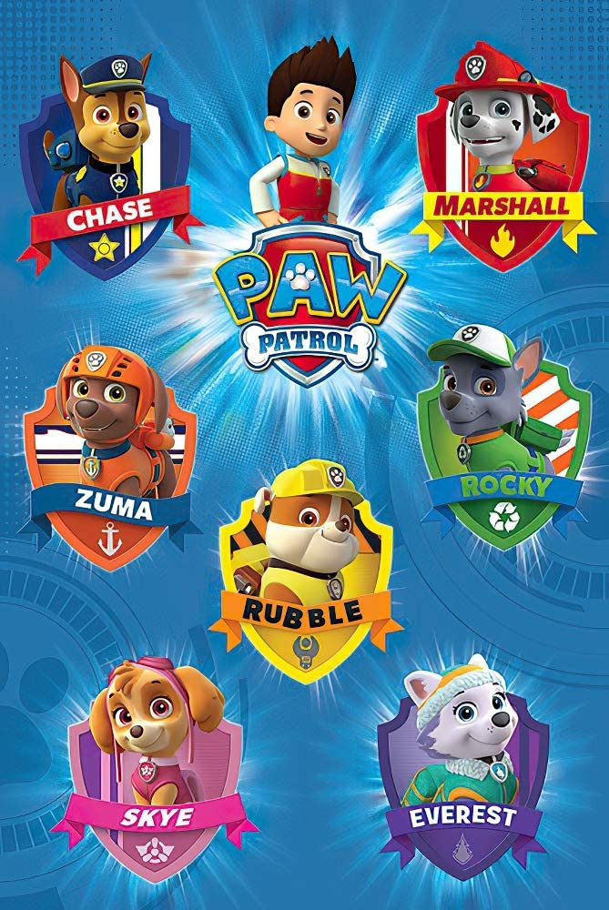POSTER STOP ONLINE Paw Patrol - TV Show Poster/Print (Character