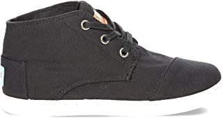 TOMS Black Canvas Youth Classic Paseos MD 10002661