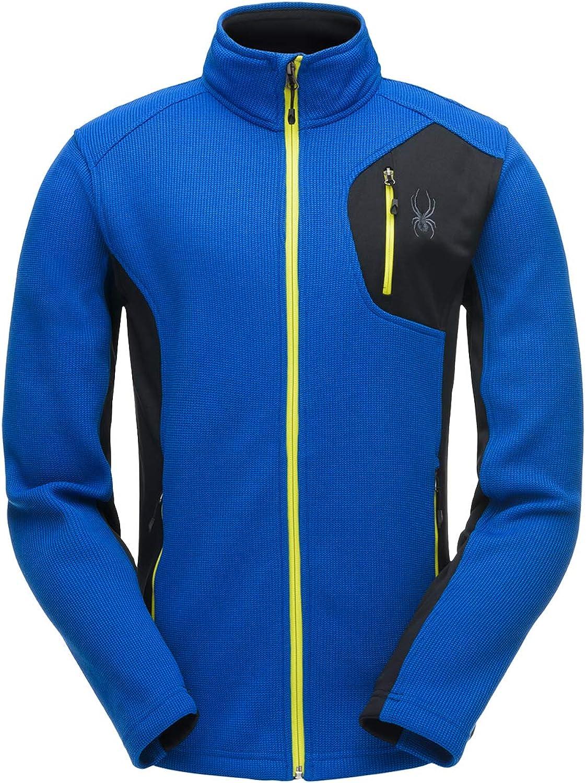 Blau Farbe Spyder Bandit Herren Half Zip Pullover