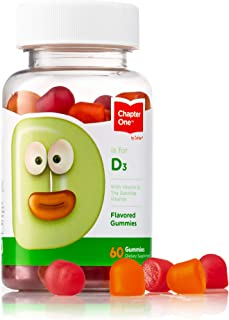 Zahler Kids Vitamin D 1000IU, Vitamin D Gummies for Kids, Optimal Vitamin D3 1000 IU for Children,Certified Kosher, 60 Gummies