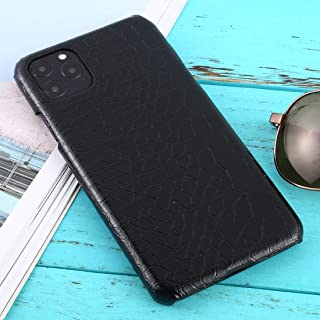 For iPhone 11 Pro Max Shockproof Crocodile Texture Protective Case New (Red) Hengk (Color : Black)