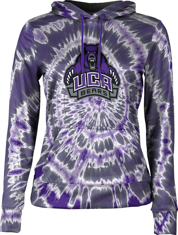 ProSphere University of Central Arkansas Girls' Pullover Hoodie, School Spirit Sweatshirt (Tie Dye)