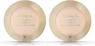 Neutrogena Mineral Sheers Compact Powder Foundation, Lightweight & Oil-Free Mineral Foundation, Fragrance-Free, Classic Iv...