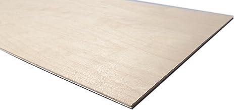 CNC 4mm grosor Pirograbado y Calado Especial para cortes con l/áser chapas de abedul lijado en ambas caras Chely Intermarket tableros madera contrachapado 30x40cm Pack10 Unds