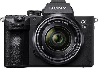 Sony Alpha ILCE-7M3K Full-Frame 24.2MP Mirrorless Digital SLR Camera with 28-70mm Zoom Lens (4K Full Frame, Real-Time Eye Auto Focus, Tiltable LCD, Low Light Camera) - Black