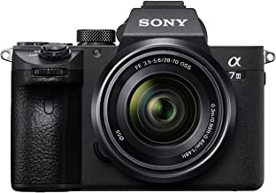 Sony Alpha ILCE-7M3K Full-Frame 24.2MP Mirrorless Camera with 28-70mm Zoom Lens (4K Full Frame, Real-Time Eye Auto Focus, ...