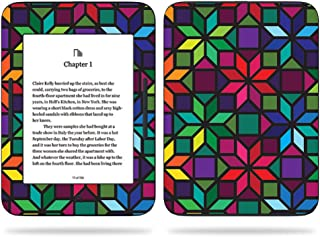 MightySkins Skin Compatible with Barnes & Noble Nook GlowLight 3 (2017) - Stained Glass Window | Protective, Durable, and Unique Vinyl Decal wrap Cover | Easy to Apply, Remove | Made in The USA