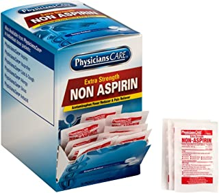 PhysiciansCare Non Aspirin Acetaminophen Pain Reliever Medication (Compare to Tylenol), 50 Doses