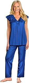 Shadowline womens Silhouette Short Cap Sleeve Pajama Set Pajama Set