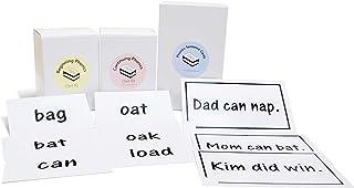 400 Words + 200 Sentences Phonics Reading Flash Cards