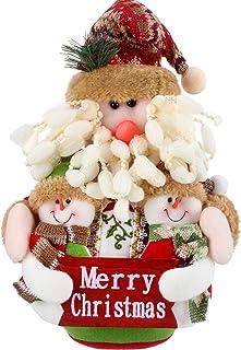 Decoração de mesa de enfeite de Papai Noel Sumind Christmas Sitting Decoração de casa Estatuetas de Natal (25 x 20 cm, Pap...
