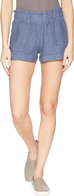 Allen Allen Womens Stripe Shorts