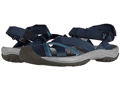 KEEN Kira Ankle Strap (Deep Blue) Women