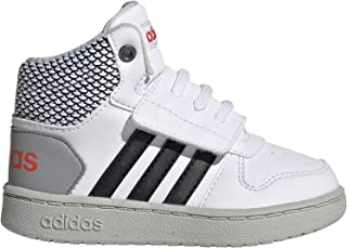 adidas Shoes Kids Sneakers Fashion School Sports Hoops MID 2 Infants Boys (26.5 EU - UK 9K - US 9.5K)