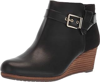 حذاء برقبة حتى الكاحل دارسي للسيدات، أسود، مقاس 10 M US