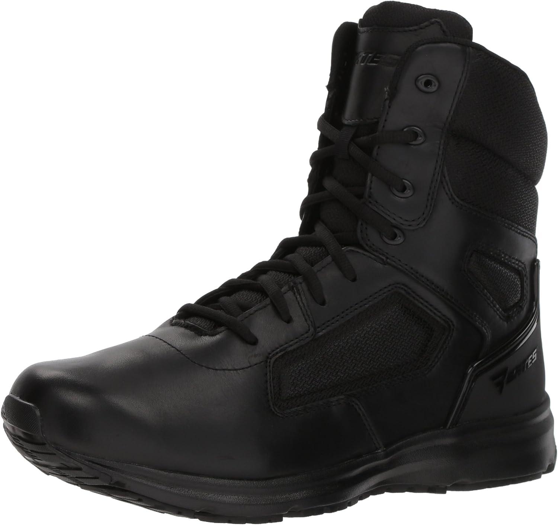 Bates herrar Raide 8 Hot Weather Side Zip Military Military Military and Taktic Boot, svart, 10.0 M USA  100% passform garanti