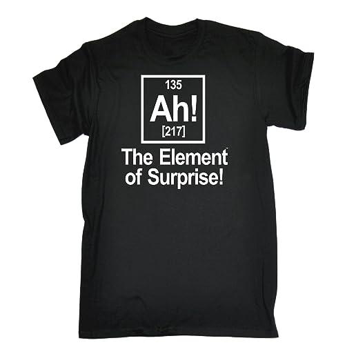 5e145057a2da 123t Men's - AH ELEMENT OF SURPRISE - Loose Fit T-shirt