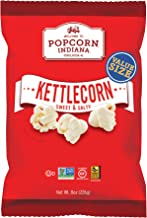 Popcorn Indiana Popcorn, Kettlecorn Sweet & Salty, 8 Ounce Bag (Pack of 6)