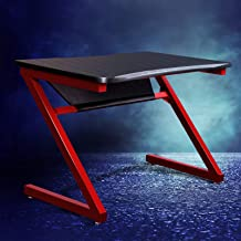 Artiss Office Computer Desk Study Gaming Table Racer Chair Desks Laptop Home Red