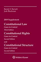 Constitutional Law: Cases in Context, 2019 Supplement (Supplements)