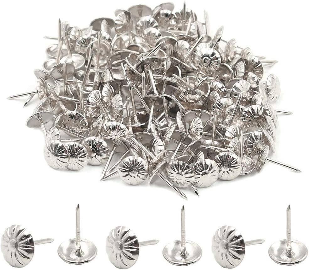 Luomorgo Max 74% OFF Antique Chrysanthemum Nails Special sale item Upholstery Tacks Furniture