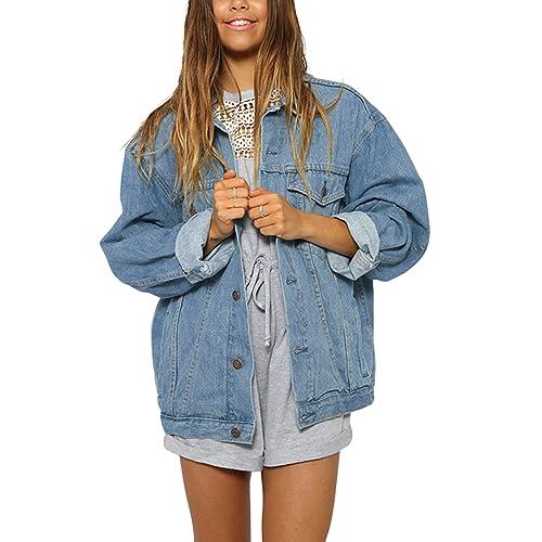 6f32e14fa475c Oversize Jean Jacket: Amazon.com