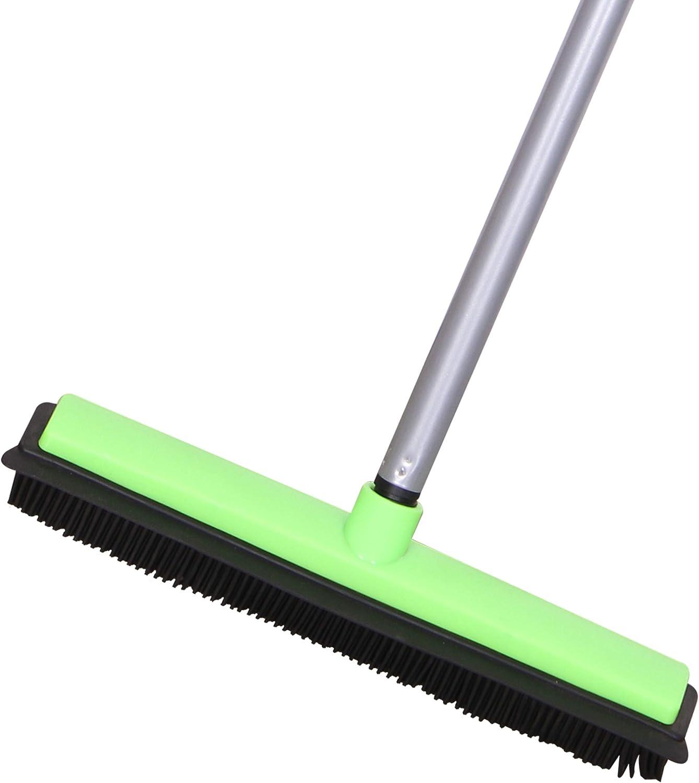 LCF Carpet Rake Long Handle Luxury Pet Broom Squeegee Rubber Cheap mail order shopping F Hair Dog