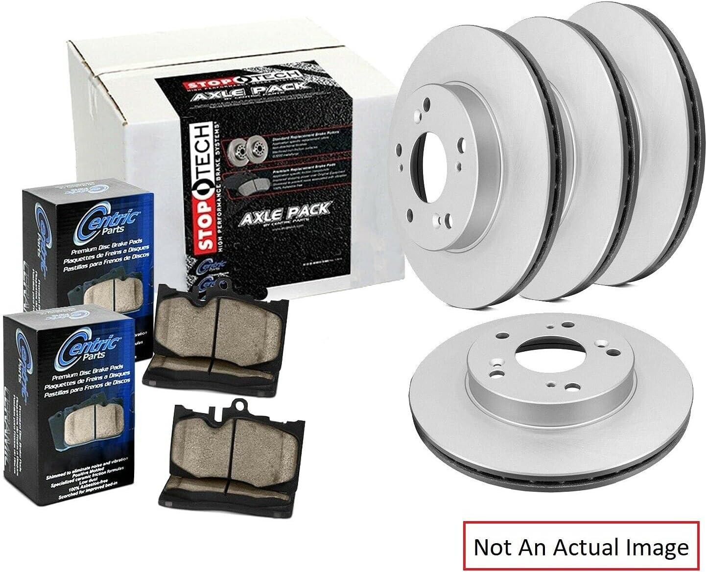 Metallic Ceramic Front and Rear Pad Brake Award-winning store Directly managed store Disc Kit Rotor