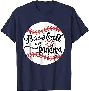 Proud Baseball Grandma Shirt