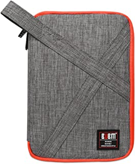 BUBM Waterproof Double Layer Cable, Hard Drive Organizer, Digital Gadget Travel Bags, Grey (DIP-D Grey)