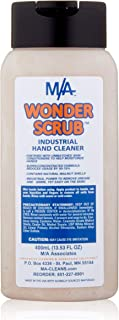 Sponsored Ad - WONDER SCRUB Hand Cleaner Industrial Strength, Heavy duty for grease, grime, oil, paint,... (400 ml. squeez...