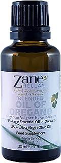 Zane Hellas 15% Aceite de Orégano. Aceite esencial de orégano griego puro.86% Min Carvacrol. 20mg de Carvacrol por porción...