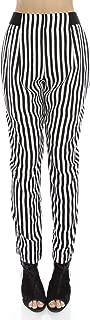Sans Souci Women's Stripe Soft Woven Harem Pants