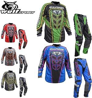 Wulfsport Adult Axium Pants New 2019 Motorbike Motocross Quad Enduro MTB Off Road ATV MX Pit Sport Trouser Pant Grey//Yellow 36