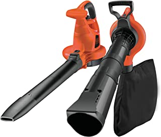 BLACK+DECKER GW3030-QS - Aspirador, soplador y triturador de hojas, 3000W, 418 Km/h