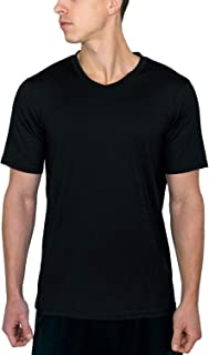 Ashton - Men's Merino Wool T-Shirt - V Neck Athletic Shirt - Wicks Away Moisture