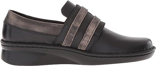 Black Madras Leather/Oily Coal Nubuck/Vintage Gray Leather
