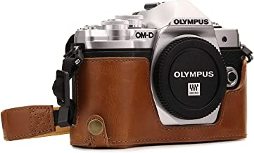 Megagear Olympus OM-D E-M10 Mark Ii Pu Leather Camera Case, Light Brown (MG971)