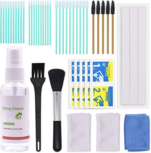 49PCS Phone Cleaning Kit Apply to Cell Phone/AirPods Pro/AirPods 2/AirPods 1, Screen Cleaner Kit with Cleaning Swabs, Gunk Remover, Cleaning...