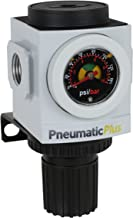PneumaticPlus PPR3-N02BG Compressed Air Pressure Regulator, 1/4