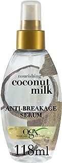 OGX, Hair Serum, Nourishing+ Coconut Milk, Anti-Breakage Serum, Spray, 118ml