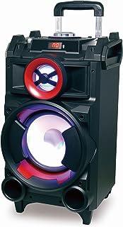 Conceptronic CSPKBTBASSCROWD 70 W Negro - Altavoces portátiles (2.1 Canales, 70 W, 100-20000 Hz, 80 dB, Inalámbrico y alámbrico, Negro)