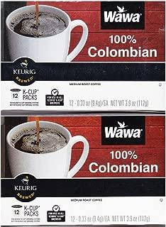 WAWA SINGLE CUP COFFEE 24 Pack (100% Colombian)