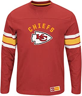 Kansas City Chiefs NFL Mens Majestic Power Hit Long Sleeve Shirt Red Big  Sizes b6c28c2e3