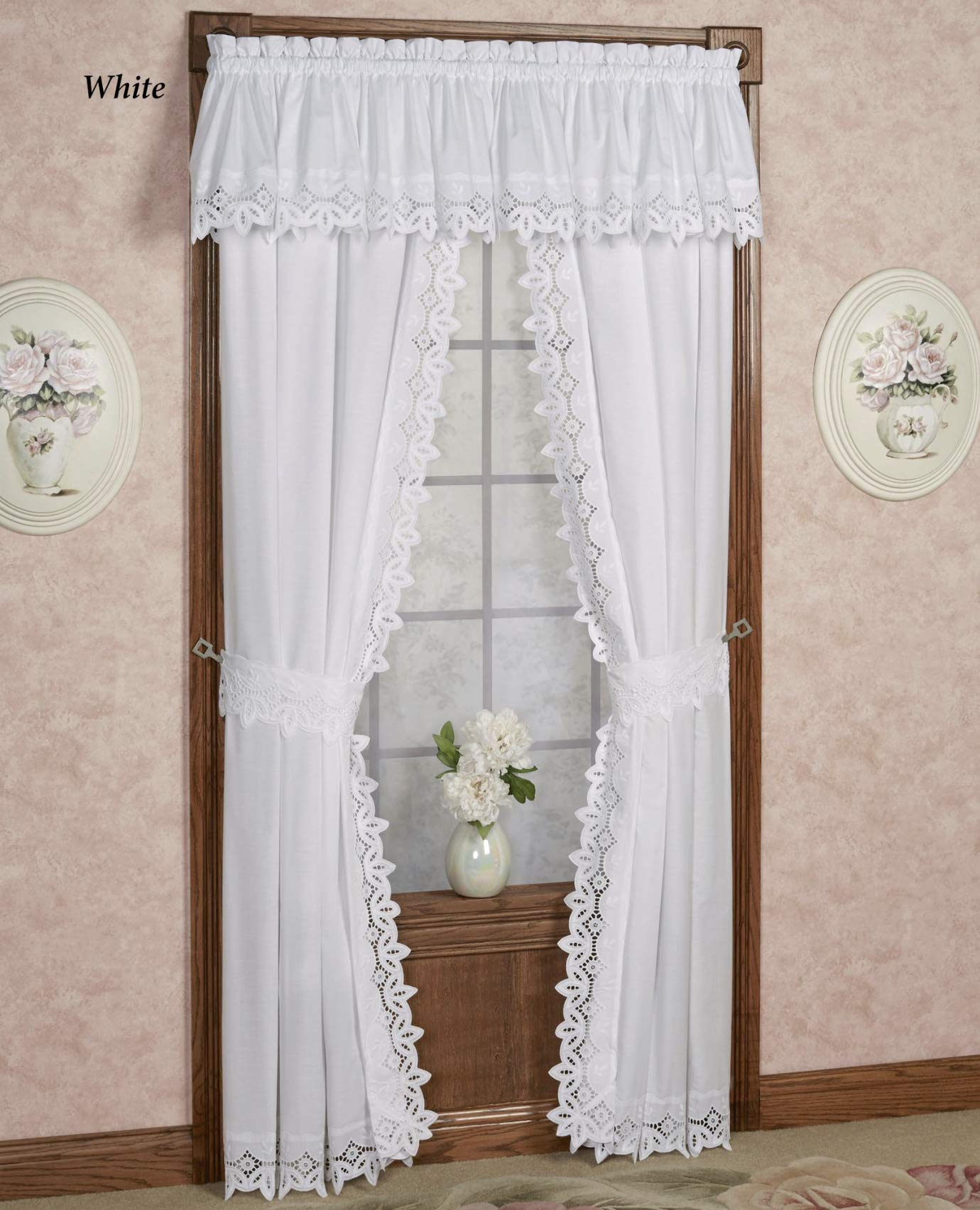Battenburg Lace Tailored Curtains Drapes