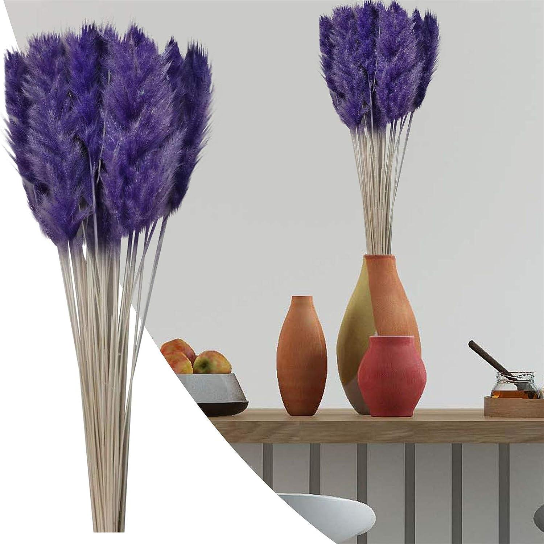 U D online shop Purple Fake Artificial Max 85% OFF Pampas 24