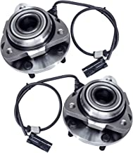 TUCAREST 513200 x2 (Pair) Front Wheel Bearing and Hub Assembly Compatible With 1998-2005 Chevrolet Blazer 1998 1999 2000 2001 2002 2003 2004 GMC Jimmy (RWD Models Only) [5 Lug]