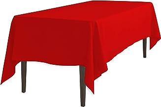 LinenTablecloth 102 Inch Rectangular Polyester Tablecloth