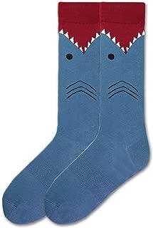 K. Bell Shark Cotton Blend Crew Sock (MS15H050)